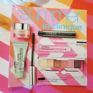 💄 👜 CLINIQUE  SUMMER COLLECTION  💄👜🎁